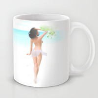 Where the weather's warm and the girls are pretty. Mug by John Medbury (LAZY J Studios)