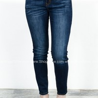 Dallas Dark Skinny Denim