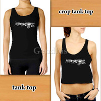 Avenged Sevenfold Logo 24524  Custom Woman Crop Tank , Woman Tank Top , Man Tank Top