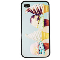 Ice Cream Case / Beach iPhone 4 Case Summer iPhone 5 Case iPhone 4S Case iPhone 5S Case Delicious Trendy Iphone Case