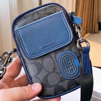 COACH Fashion New Pattern Leather Shoulder Bag Crossbody Bag