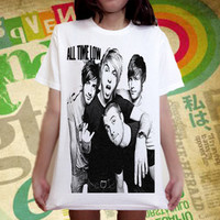 All Time Low band pop punk Music Arctic Monkeys T-Shirt Sz.S,M,L,XL
