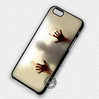 Bloody Hands Walking Dead Zombies - iPhone 7 6 5 SE Cases & Covers