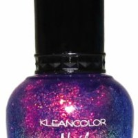 KLEANCOLOR Nail Lacquer-KCNP48-235 Chunky Holo Bluebell