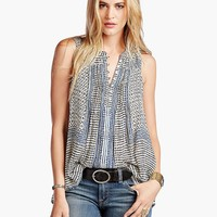 Lucky Brand Endless Tank Womens - Natural Multi