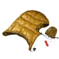 Outdoor Hiking Climbing Winter Goose Down Bucket Hat for Male/Female for sleeping bag