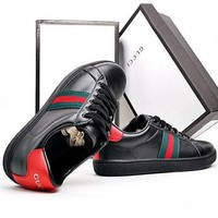 Gucci Women Fashion Old Skool Leather Sneakers Sport Shoes