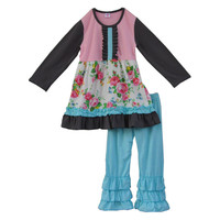persnickety remake boutique children clothing set spring toddler girls outfits