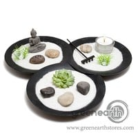 Green Earth Stores | 00213883502 - Zen Garden - Triangular