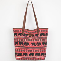 Billabong Sahara Tote Bag Red One Size For Women 23098030001