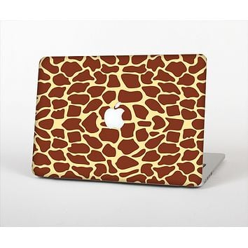 The Simple Vector Giraffe Print Skin Set for the Apple MacBook Pro 13""