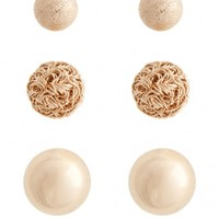 Plus Size Sistine Dome Earring Set | Fashion To Figure