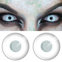 White Halloween Contacts