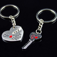 FREE Key to your Heart keychains!
