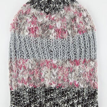 Mixed Media Beanie Black One Size For Women 26439410001