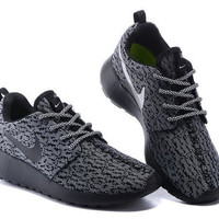 custom nike roshe yeezy boost 350 run sneakers athletic running womens shoes as is or blinged with swarovski crystals