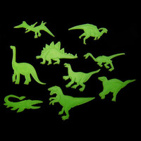 Glow In The Dark Dinosaurs (9 Pcs)