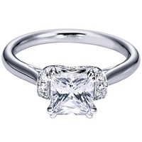 "Ben Garelick Royal Celebrations ""Aubrey"" Diamond Engagement Ring"