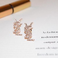 Fashion Ys inspired Earrings