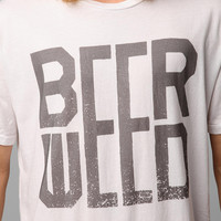 Urban Outfitters - Beer And Weed Tee