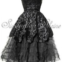 Hell Bunny Lavintage Victorian Steampunk Dress