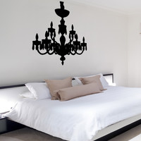Vinyl Wall Decal Sticker Chandelier #OS_MB705