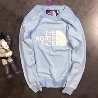 DCCKNQ2 THE NORTH FACE Woman Men Fashion Round Neck Top Sweater Pullover-1