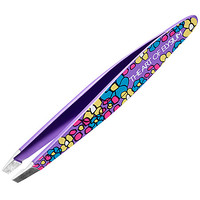 Tweezerman Art of Elysium Mini Slant Tweezer: Morning Glories