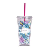 Alpha Xi Delta Tumbler with Straw by Lilly Pulitzer