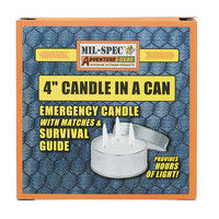 "Voodoo Tactical 4"" Candle In A Can"