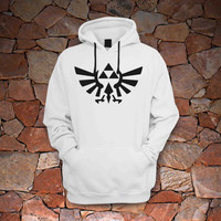 zelda triforce golden hoddie