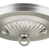 Brushed Pewter Traditional Canopy Kit
