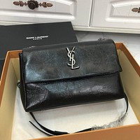 ysl women leather shoulder bag shopping satchel ysl tote bag handbag 21