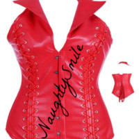 Red Steel Boned Corset|Fashion Corsets|Corsetsworld.com