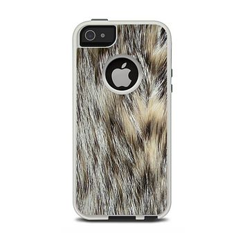 The Furry Animal  Apple iPhone 5-5s Otterbox Commuter Case Skin Set