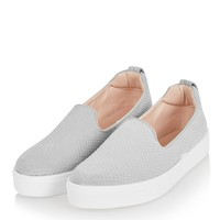 Anaconda Effect Slip On Trainers | Topshop