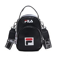 shosouvenir FILA Shoulder backpack Pu small schoolbag travel bag