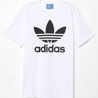 adidas Originals Trefoil White T-Shirt at PacSun.com