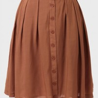 Eloise Belted Circle Skirt