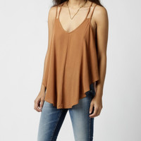 Loose Sleeveless Chiffon Camisole