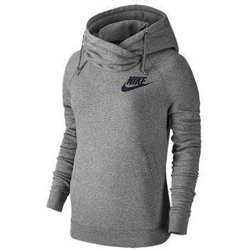 Nike Rally Funnel Neck Hoodie - Women's at Foot Locker