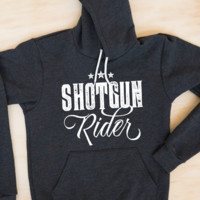 Shotgun Rider | Women's Soft Hooded Sweatshirt