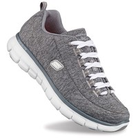 Skechers Synergy Spot On Women's Training Shoes (Grey)