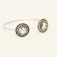 Socialite Crystal Bangle - Bracelet