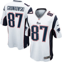 Rob Gronkowski New England Patriots Nike Limited Jersey - White