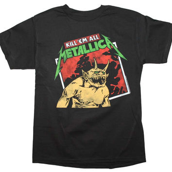 Metallica Kill em All Tilted T-Shirt Large