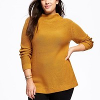 Mock-Neck Plus-Size Pullover | Old Navy