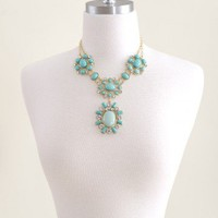 Goddess Of The Sea Necklace-Mint