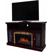 "Walmart: Decor Flame Electric Fireplace for TVs up to 48"", Chestnut"