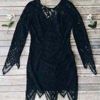 Kamora Lace Dress (Black)